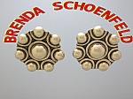 Click to view larger image of Brenda Schoenfeld EarringsTaxco Mexico Sterling Silver  (Image1)