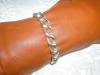 Click to view larger image of Sterling Silver Toggle Clasp Link Bracelet (Image3)