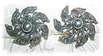 Click to view larger image of CINI Sterling Silver Clip Earrings (Image1)
