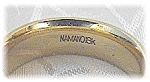 Ring 18K Gold NAMANO Comfort Wedding Band