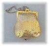 Click to view larger image of Whiting & Davis Gold Mesh Evening Purse (Image2)