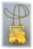 Click to view larger image of Whiting & Davis Gold Mesh Evening Purse (Image3)