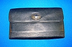 Click to view larger image of BLACK LEATHER WALLET ..................... (Image1)