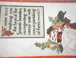Click here to enlarge image and see more about item 02062226: Christmas Postcard.