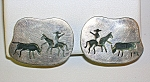 Mexican Sterling Silver Signed Clip Earrings
