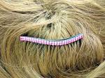 Click to view larger image of Pink Crystal Hair Comb (Image2)