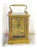 Click to view larger image of Brass French French Carriage Clock (Image2)
