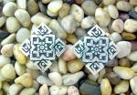 Click to view larger image of Taxco NM Mexico Sterling Silver Clip Earrings (Image6)