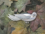 Click to view larger image of Sterling Coro Norseland Dove Bird Pin Brooch . . . (Image1)