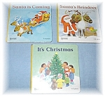 3 Childrens Christmas Books From 1989