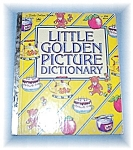 Little Golden Picture Dictionary from 1981