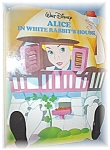 Walt Disney Alice In White Rabbits House 1988