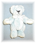 Click here to enlarge image and see more about item 0221200524: Annette Funicello Powder Blue Bear 7 Inch