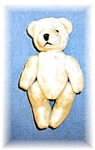 Click here to enlarge image and see more about item 0221200525: Annette Funicello 5 1/2 inch Cream Teddy Bear