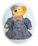 Click here to enlarge image and see more about item 0221200527: Boyds 6 1/2 inch Fully Dressed Lady Bear