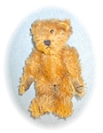 Click here to enlarge image and see more about item 0221200531: 1997 100% Mohair 6 Inch Tiny Teddy