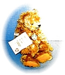 Click here to enlarge image and see more about item 0221200538: Classic Numbered HERMANN Mohair Bear