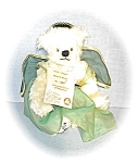 Click here to enlarge image and see more about item 0221200540: White Hermann Irish Angel  #357 of 1000 Bear