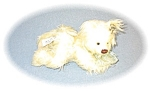 Annette Funicello Lemon 100% Mohair Dog 8 Inch
