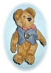 Click here to enlarge image and see more about item 0221200558: Boyds Bear 7 Inch Bearwear