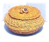 Click to view larger image of Japanese Woven Basket ????? (Image2)