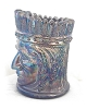 Click to view larger image of Irridescent Blue Indian Tooth Pick Holder (Image2)
