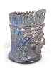 Click to view larger image of Irridescent Blue Indian Tooth Pick Holder (Image3)