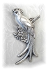 Click to view larger image of 4 3/4 Inch  Fabulous MEXICAN Sterling Brooch (Image4)