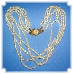 Freshwater Pearl 5 Strand Necklace