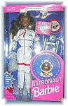 Click here to enlarge image and see more about item 0227200664: Astronaught Barbie In Original Box By Mattel