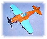 Metal Flying Tiger Tootsie Toy Aeroplane