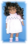 Click here to enlarge image and see more about item 0228200670: 19 Inch Brown Eyes & Hair Kissy Doll