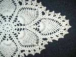 Click to view larger image of Crocheted Doily Pineapple Pattern 80s (Image2)