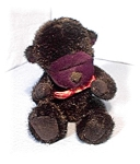 Click here to enlarge image and see more about item 0308200405: Little Bean Filled Black Boyds Gorilla