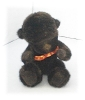 Click to view larger image of Little Bean Filled Black Boyds Gorilla (Image2)