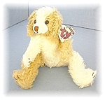 Click to view larger image of TY Scruffy Bean Stuffed Doggie (Image1)
