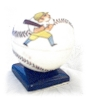 Click to view larger image of China Handpainted Baseball With Insert (Image3)