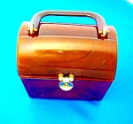 Click here to enlarge image and see more about item 0313200754: Vintage Lucite Box Bag