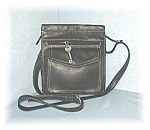 Buttery Soft Black Leather Fossil Shoulder Bg