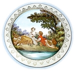 Click to view larger image of Hand Painted Signed Plate Made In Japan (Image1)