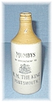 English Stone MUMBY'S Ginger Beer Bottle