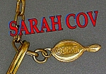 Click to view larger image of SARAH COVENTRY Goldtone Link Necklace (Image1)
