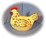 Click here to enlarge image and see more about item 0319200377: Large Chicken Dish Made In England