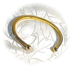 Click here to enlarge image and see more about item 0320200342: Goldtone AVON Cuff Bracelet
