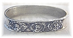 Click here to enlarge image and see more about item 0321200599: Napkin Ring Sterling Silver Cherub Faces