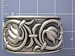 Click to view larger image of Taxco Mexico BERNICE GODSPEED Sterling Silver Bracelet (Image1)