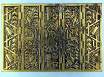 Click to view larger image of Brass Box hinged Wood Bottom Israel (Image7)