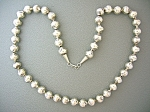 Sterling Silver 24 Inch Handmade Beads 11mm