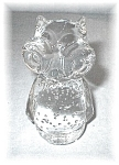 Click here to enlarge image and see more about item 0406200522: Glass Owl
