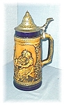 Click here to enlarge image and see more about item 0406200526: STEIN GERZ LIDDED BEER